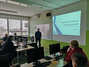 Strokovno predavanje o kakovosti IT sistemov
